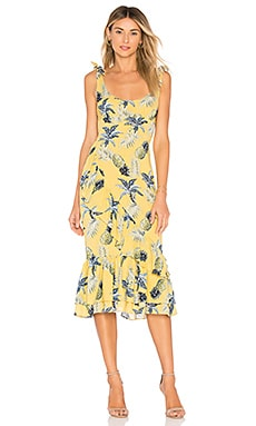 Nina Dress in Yellow. - size L (also in M,S,XL,XS) Majorelle London