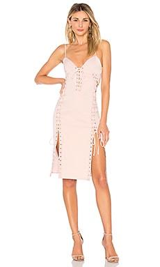 Купить Платье с бюстье jolie - MAJORELLE розового цвета