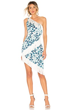 Serena Midi Dress in White. - size XS (also in L,M,S,XXS) Majorelle London