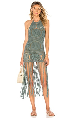 Amy Crochet Dress MAJORELLE $129