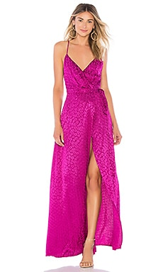 Cubano Maxi Dress MAJORELLE $131