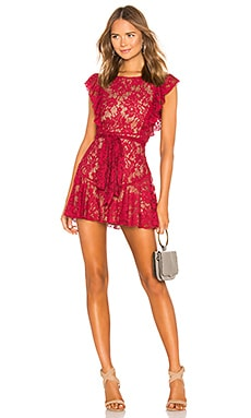 Marnie Mini Dress MAJORELLE $168