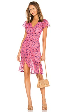 Elaine Midi Dress MAJORELLE $178