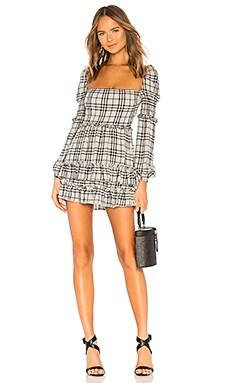 Купить Мини-платье с длинным рукавом clarise - MAJORELLE, Длинные рукава, Китай, Черный