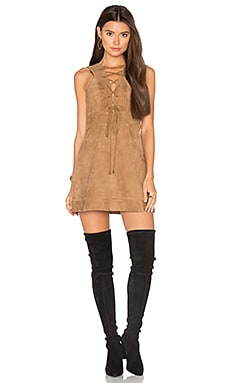 Rosa Dress in Camel