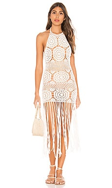 Amy Crochet Dress MAJORELLE $86