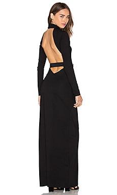 MAJORELLE Caspian Dress in Black