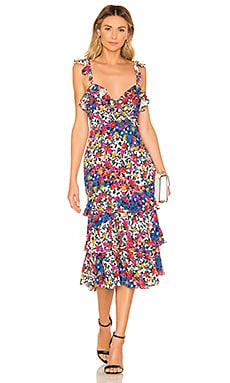 Nolita Midi Dress MAJORELLE $238