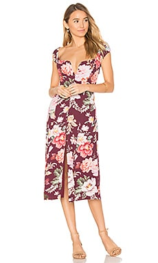 Willow Midi Dress in Karolina Print