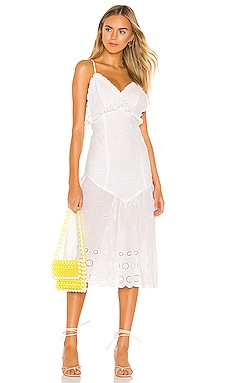 Isla Midi Dress MAJORELLE $228 BEST SELLER