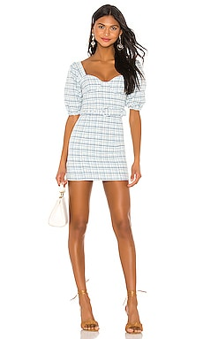 Abigail Mini Dress MAJORELLE $188 BEST SELLER