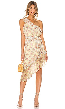 Isabelle Midi Dress MAJORELLE $218