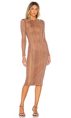 Weston Midi Dress MAJORELLE $160
