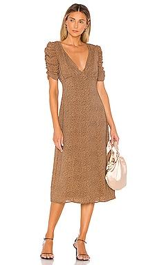 Tamra Midi Dress MAJORELLE $228 BEST SELLER