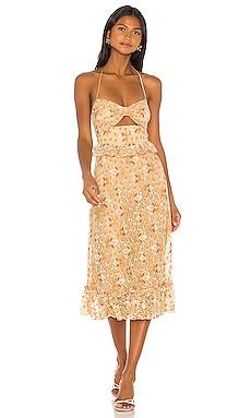 Jessica Midi Dress MAJORELLE $198 BEST SELLER