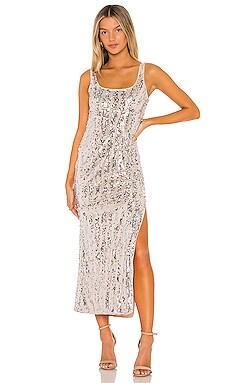 Danielle Maxi Dress MAJORELLE $238