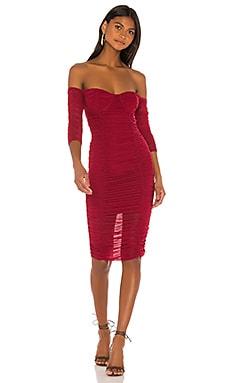 Jared Midi Dress MAJORELLE $178