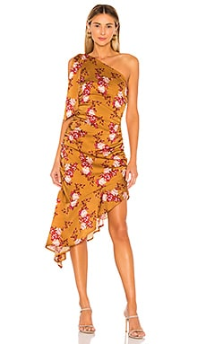 Princeton Midi Dress MAJORELLE $218