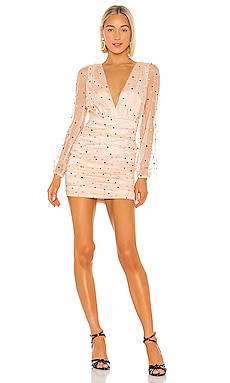 Santiago Mini Dress MAJORELLE $178