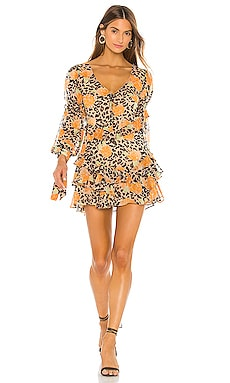 Bijou Mini Dress MAJORELLE $178 NEW ARRIVAL