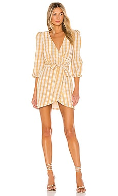 Edison Mini Dress MAJORELLE $90