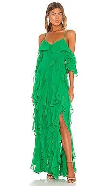 Tasmania Gown MAJORELLE $328
