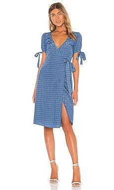 Платье миди roxy - MAJORELLE