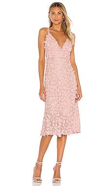 Winnow Midi Dress MAJORELLE $238