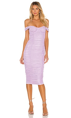 Tabitha Midi Dress MAJORELLE $208 NEW ARRIVAL