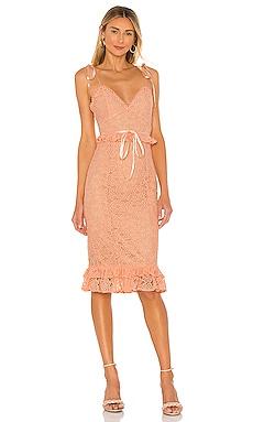 Ellington Midi Dress MAJORELLE $154