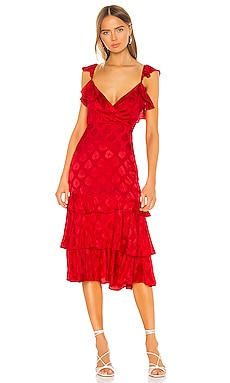 Nolita Midi Dress MAJORELLE $191