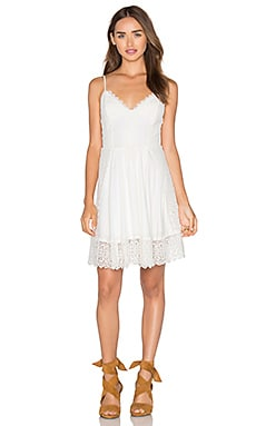 MAJORELLE Santa Fe Dress in Ivory