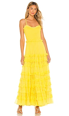 Mimi Maxi Dress MAJORELLE $204