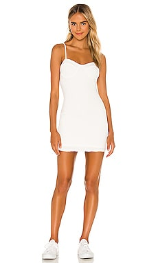 Halle Bustier Dress MAJORELLE $118