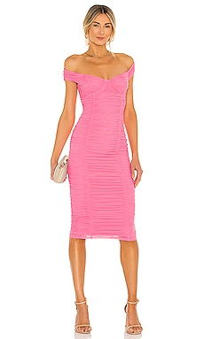Tabitha Midi Dress MAJORELLE $208