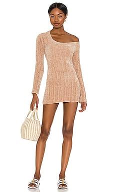 Britta Chenille Mini Dress MAJORELLE $47 (FINAL SALE)