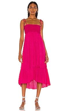 Nola Maxi Dress MAJORELLE $208 NEW