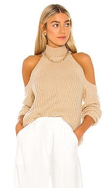 Estrid Cold Shoulder Sweater MAJORELLE $158