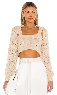 Texture Stitch Sweater Set MAJORELLE $100
