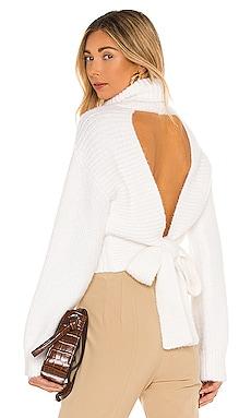 Elouise Tie Back Sweater MAJORELLE $168