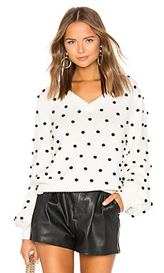 Polka Dot Sweater MAJORELLE $158