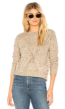 Cable Knit Sweater MAJORELLE $58