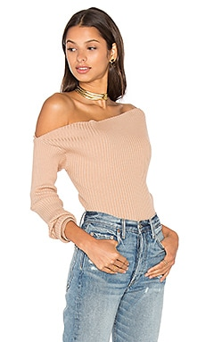 MAJORELLE Twister Sweater in Blush