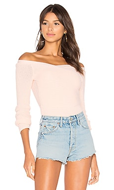 Palma Sweater Top in Blush