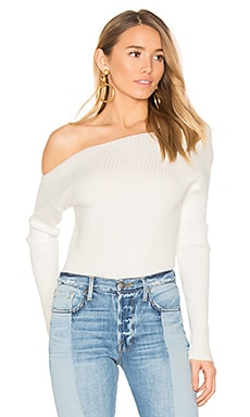 x REVOLVE Twister Sweater in Ivory