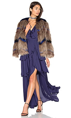 Mogambo Faux Fur Coat