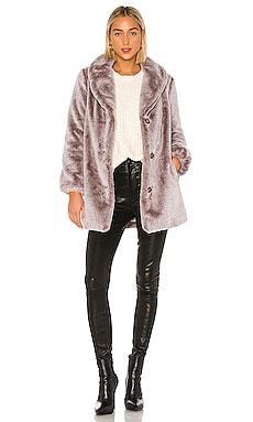 Brinley Faux Fur Coat MAJORELLE $278