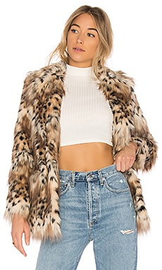 Faux Fur Stella Coat MAJORELLE $258 BEST SELLER