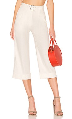 Coastline Pants in White. - size M (also in L,S,XL,XS) Majorelle London