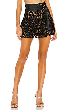 Amara Mini Skirt MAJORELLE $138